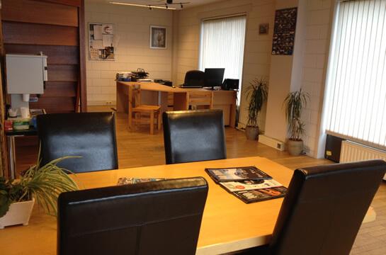 Onze kantoorruimte